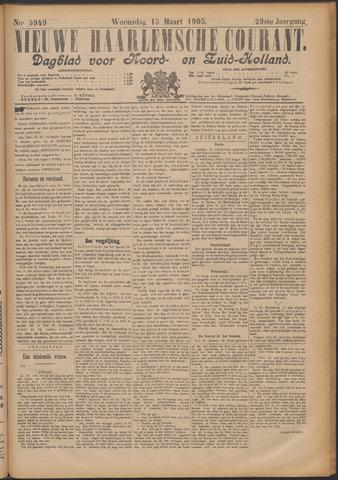 Nieuwe Haarlemsche Courant 1905-03-15