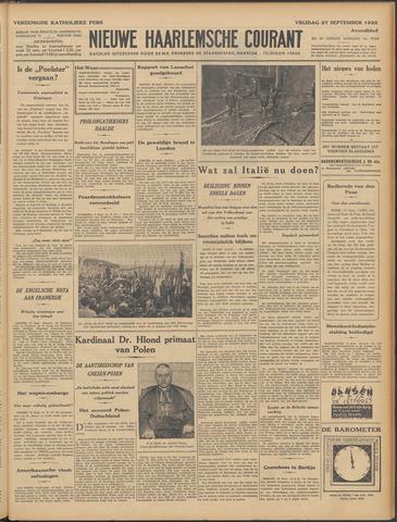 Nieuwe Haarlemsche Courant 1935-09-27