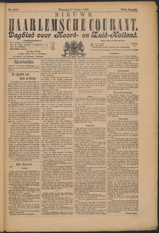 Nieuwe Haarlemsche Courant 1900-10-17