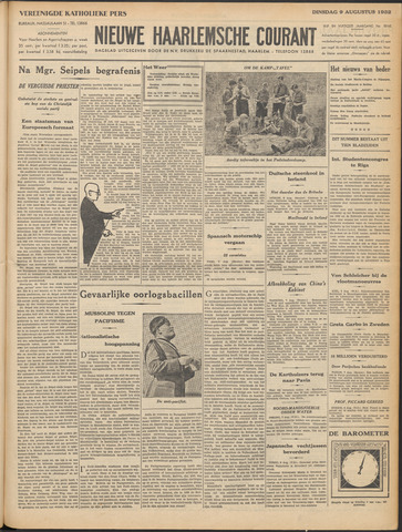 Nieuwe Haarlemsche Courant 1932-08-09