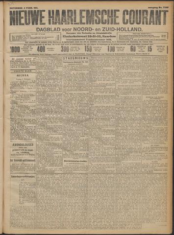Nieuwe Haarlemsche Courant 1911-02-04