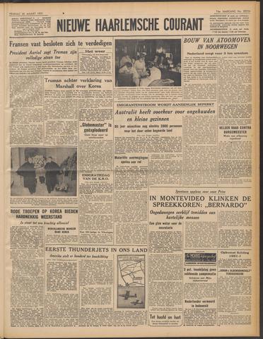 Nieuwe Haarlemsche Courant 1951-03-30