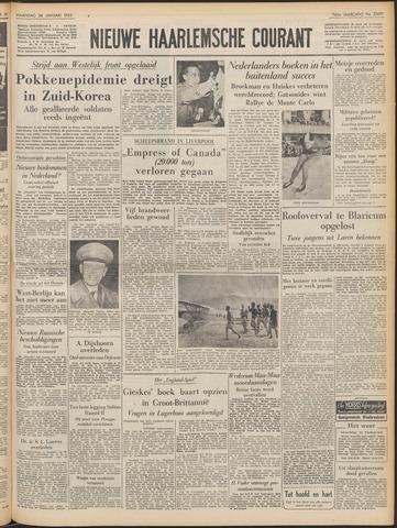 Nieuwe Haarlemsche Courant 1953-01-26