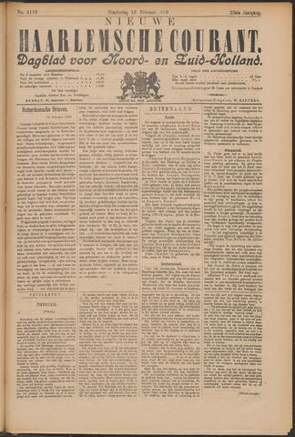 Nieuwe Haarlemsche Courant 1899-02-16