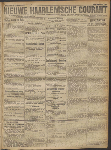 Nieuwe Haarlemsche Courant 1918-11-20