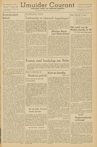 IJmuider Courant 1945-10-27