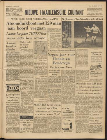 Nieuwe Haarlemsche Courant 1963-04-11