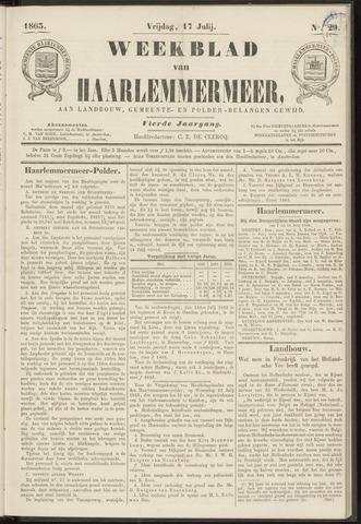 Weekblad van Haarlemmermeer 1863-07-17