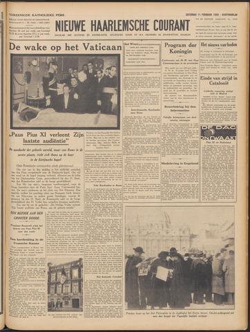 Nieuwe Haarlemsche Courant 1939-02-11