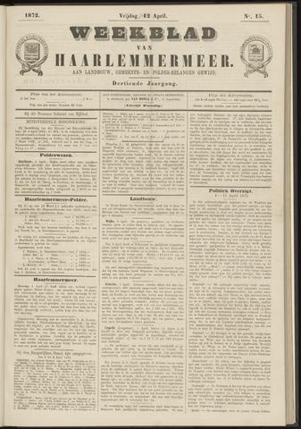 Weekblad van Haarlemmermeer 1872-04-12