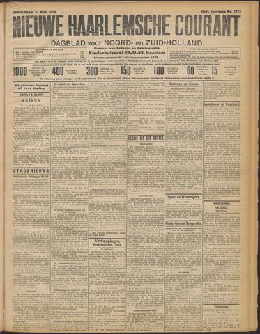 Nieuwe Haarlemsche Courant 1910-11-24