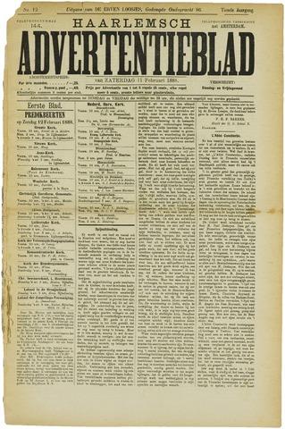 Haarlemsch Advertentieblad 1888-02-11