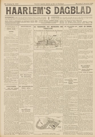 Haarlem's Dagblad 1926-11-17