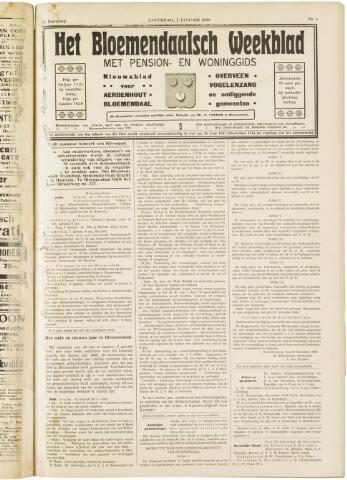 Het Bloemendaalsch Weekblad 1909