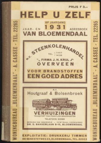 Adresboeken Bloemendaal 1931