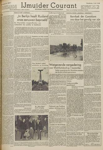 IJmuider Courant 1948-07-01