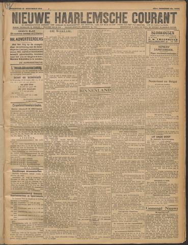 Nieuwe Haarlemsche Courant 1919-11-12