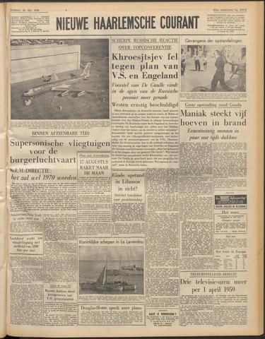 Nieuwe Haarlemsche Courant 1958-07-29