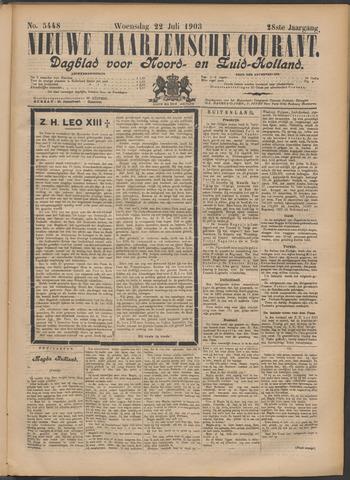 Nieuwe Haarlemsche Courant 1903-07-22