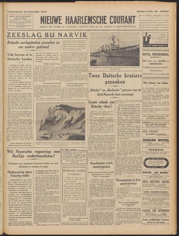 Nieuwe Haarlemsche Courant 1940-04-10