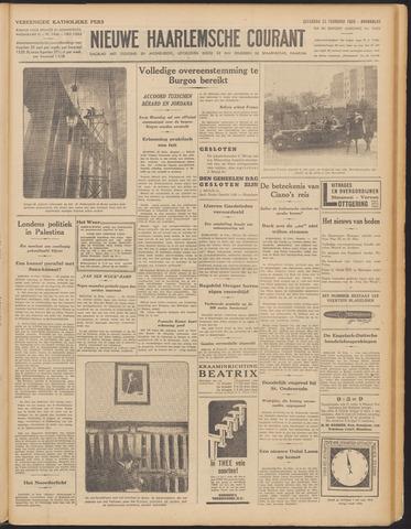 Nieuwe Haarlemsche Courant 1939-02-25