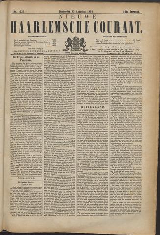 Nieuwe Haarlemsche Courant 1891-08-13