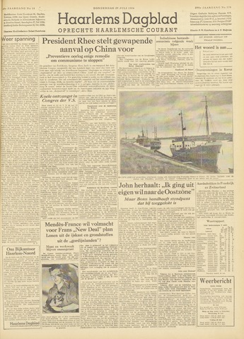 Haarlem's Dagblad 1954-07-29