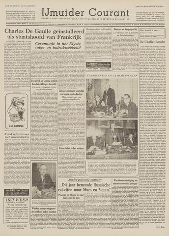 IJmuider Courant 1959-01-08