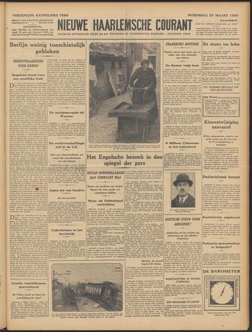 Nieuwe Haarlemsche Courant 1935-03-27