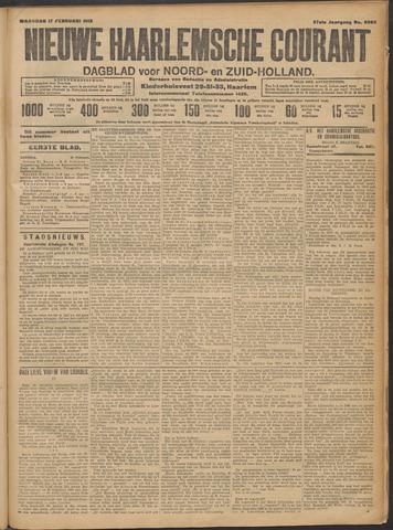 Nieuwe Haarlemsche Courant 1913-02-17