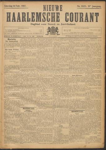 Nieuwe Haarlemsche Courant 1907-02-16
