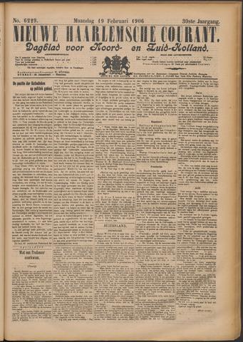 Nieuwe Haarlemsche Courant 1906-02-19