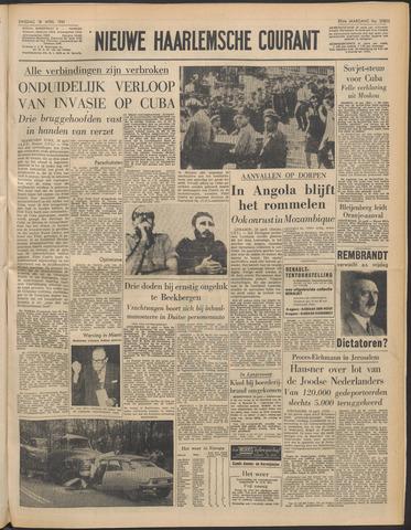 Nieuwe Haarlemsche Courant 1961-04-18