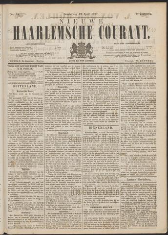 Nieuwe Haarlemsche Courant 1877-04-19