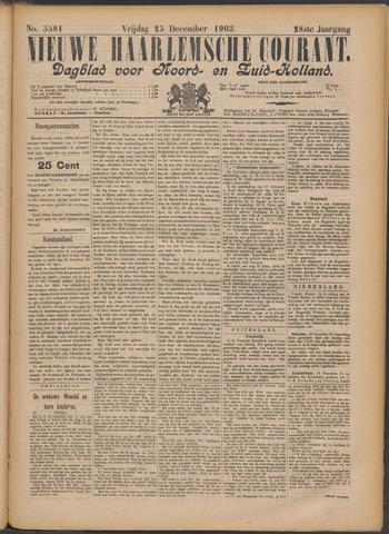 Nieuwe Haarlemsche Courant 1903-12-25