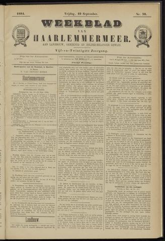 Weekblad van Haarlemmermeer 1884-09-19