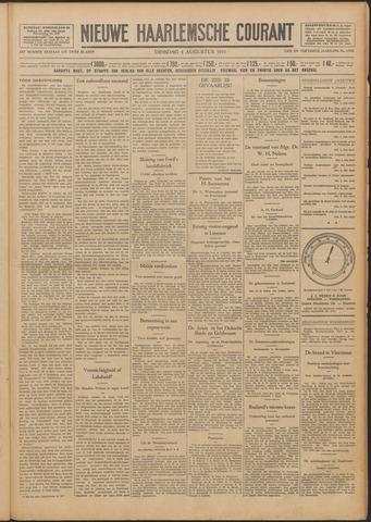 Nieuwe Haarlemsche Courant 1931-08-04