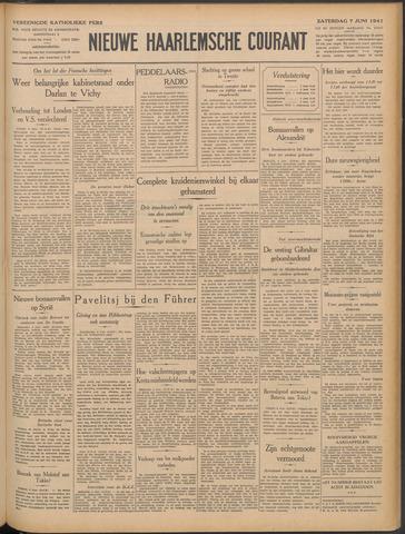Nieuwe Haarlemsche Courant 1941-06-07
