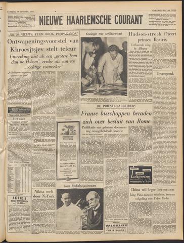 Nieuwe Haarlemsche Courant 1959-09-19