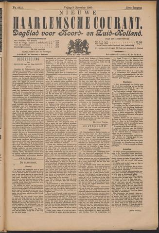 Nieuwe Haarlemsche Courant 1900-11-09
