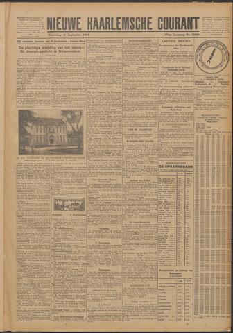 Nieuwe Haarlemsche Courant 1924-09-03