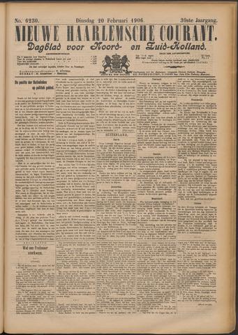 Nieuwe Haarlemsche Courant 1906-02-20