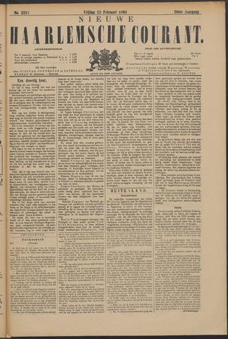 Nieuwe Haarlemsche Courant 1895-02-22