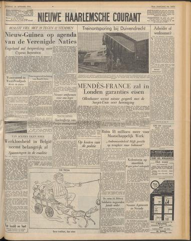Nieuwe Haarlemsche Courant 1954-09-25