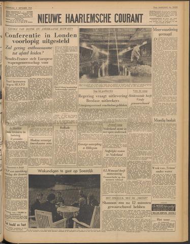 Nieuwe Haarlemsche Courant 1954-09-09