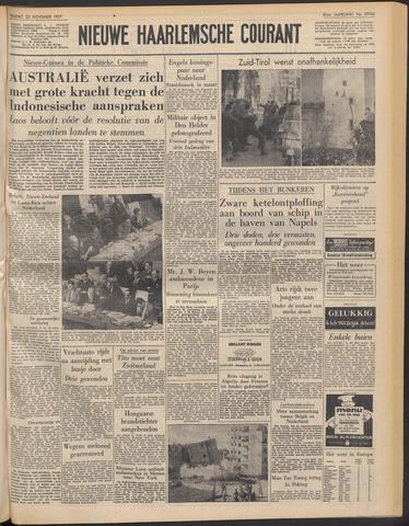 Nieuwe Haarlemsche Courant 1957-11-22