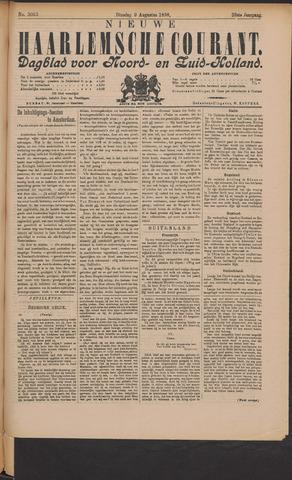 Nieuwe Haarlemsche Courant 1898-08-09