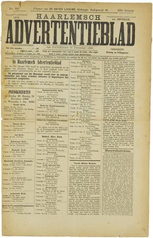 Haarlemsch Advertentieblad 1889-12-28