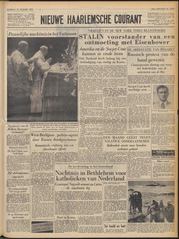 Nieuwe Haarlemsche Courant 1952-12-27
