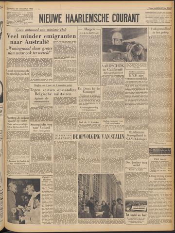 Nieuwe Haarlemsche Courant 1952-08-23